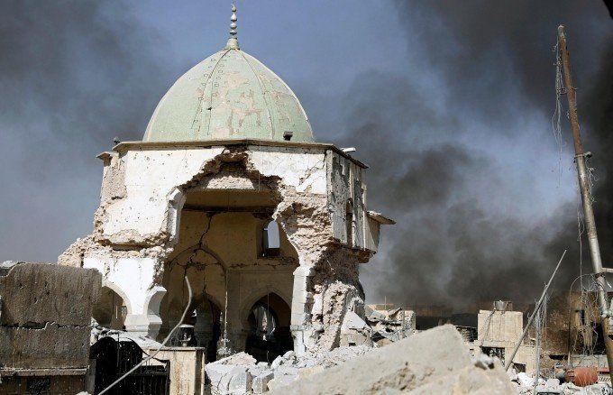 El Ejército iraquí tomó la mezquita de Mosul donde el Estado Islámico proclamó su califato hace 3 años