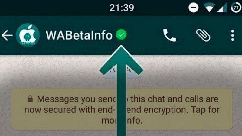 Confirman los perfiles de empresas en Whatsapp