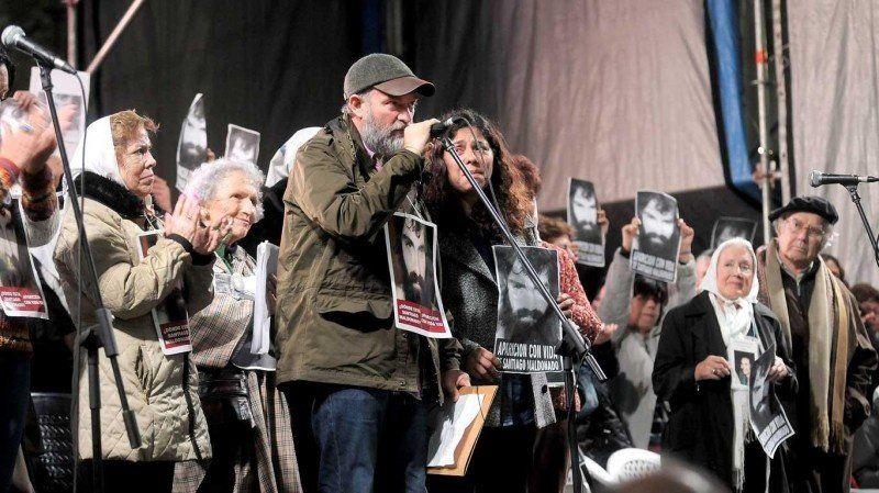 La familia de Maldonado culpó al Gobierno de desviar la investigación