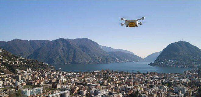 Una flota de drones se incorpora al sistema médico en Suiza