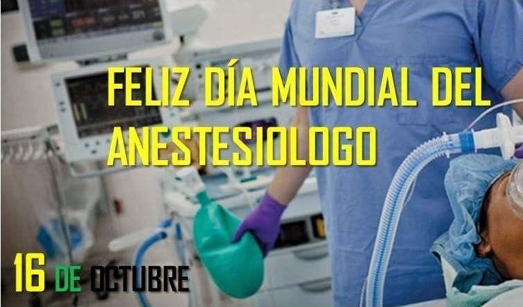 ¿Sabes por qué se celebra hoy el Día del Anestesiólogo?
