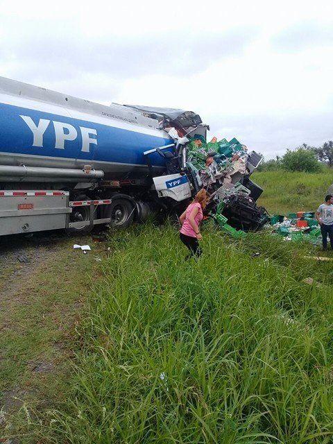 Accidente en la ruta 157