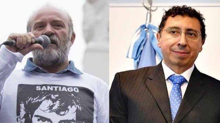 Sergio Maldonado cuestionó al juez Lleral