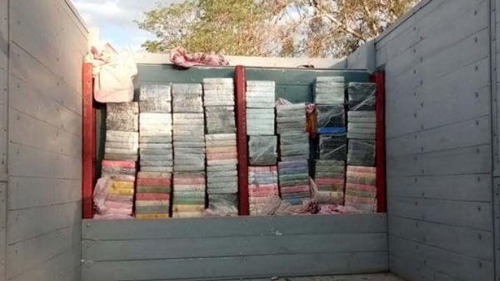 Gendarmería incautó más de 250 kilos de cocaína