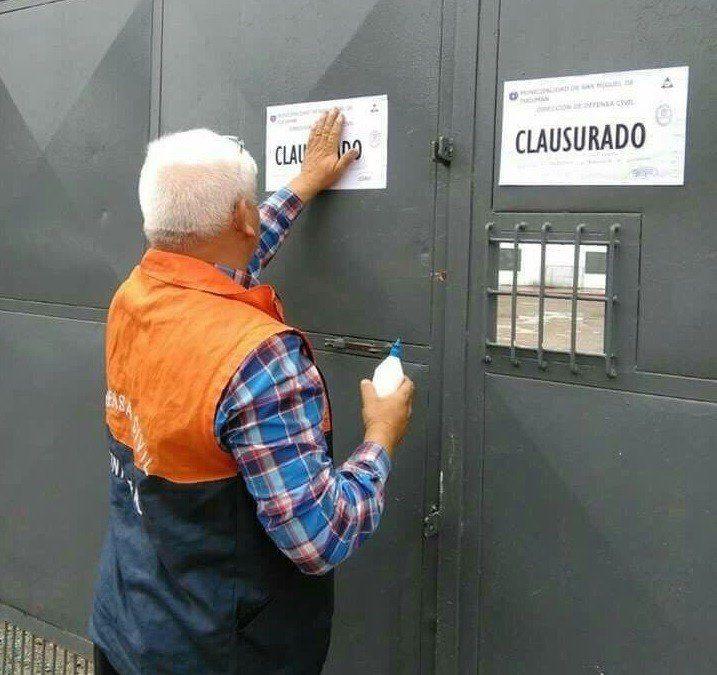 Defensa Civil clausuró la cancha de San Martín por unas horas