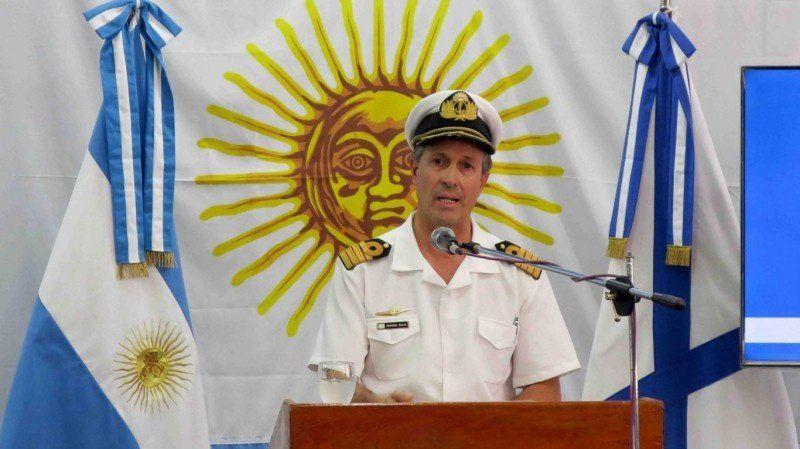 La Armada ratificó las declaraciones de Oscar Aguad
