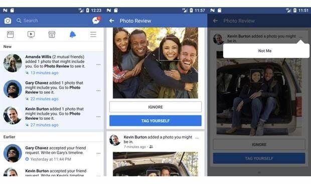 Facebook puede identificar tu rostro aún cuando no estás etiquetado