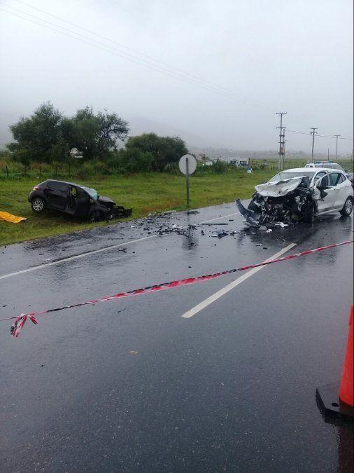 Tres personas fallecieron en un accidente en la ruta 307