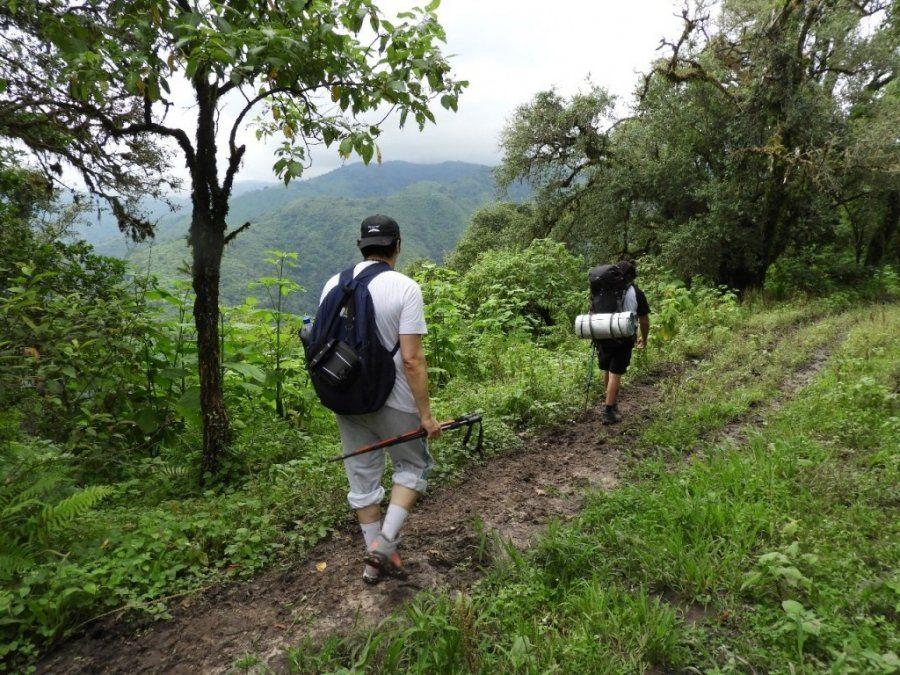 Mala Mala: 12 kilómetros en la montaña son 8 horas a pie rumbo al paraíso
