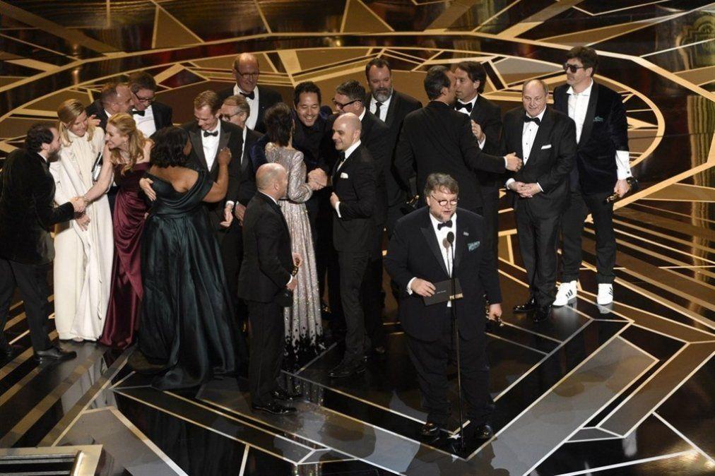 Oscar 2018:  La forma del agua fue la Mejor película