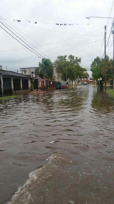 La tormenta no dejó evacuados, pero sí un muerto