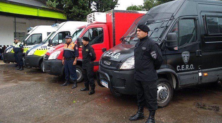 La provincia equipa a la Policía con nuevos móviles