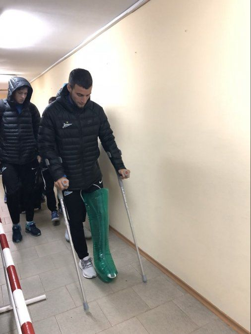 Zenit confirmó la lesión que deja afuera del Mundial a Emanuel Mammana