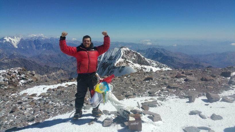 Un tucumano logró hacer cumbre en el Aconcagua