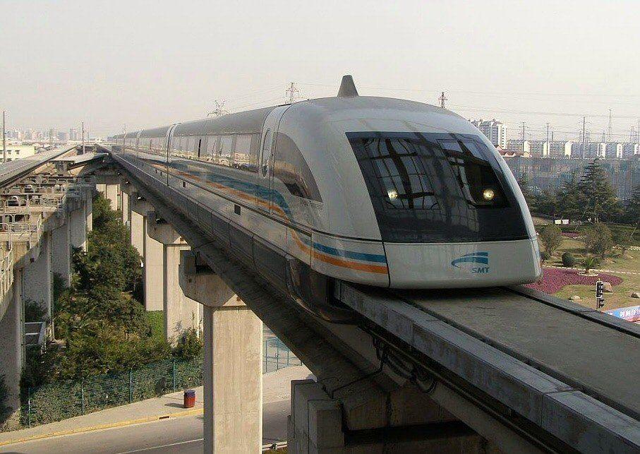 Captan un tren fantasma en una estación China