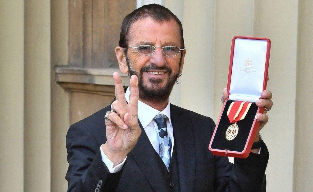 Ringo Starr ya es 'Sir'