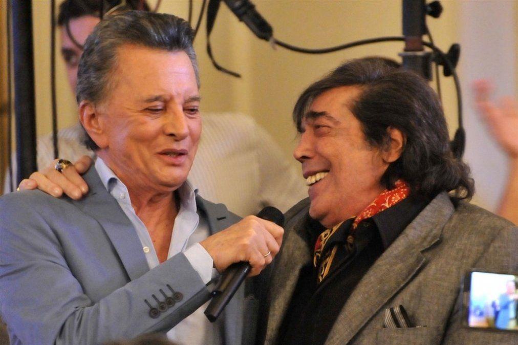 Cacho Castaña volverá a los escenarios con Palito Ortega
