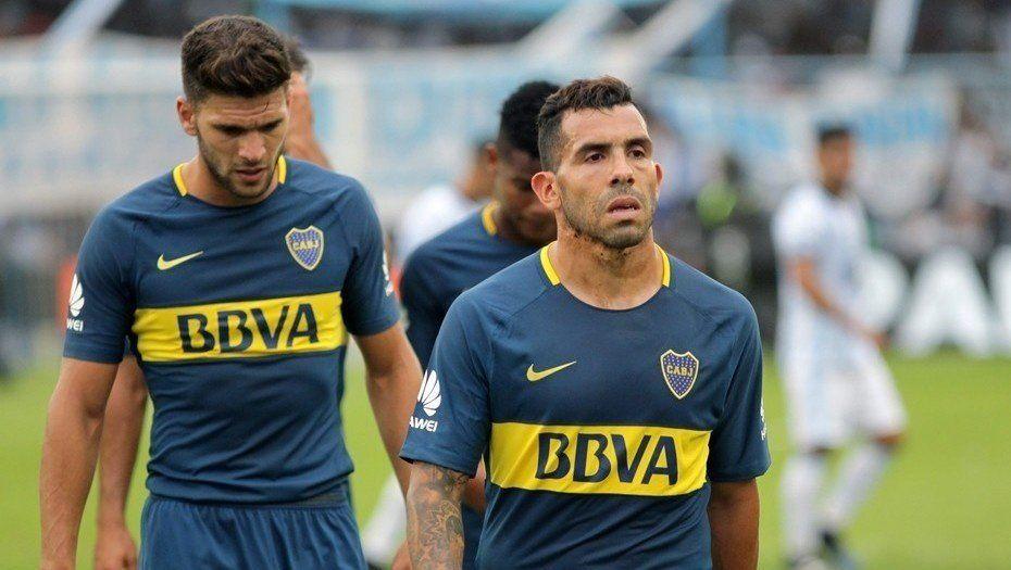 Se lesionó Tevez y Boca lo pierde para una seguidilla de partidos decisivos