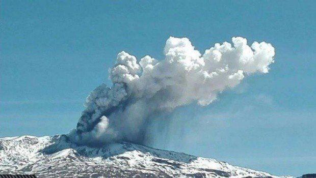Alerta por la posible erupción del volcán Copahue