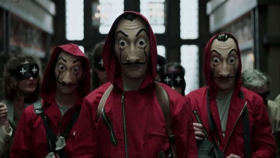 Netflix dio a conocer el trailer de la segunda temporada de La casa de papel