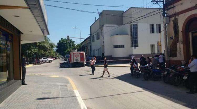Controlan la situación en la Comisaría de Monteros