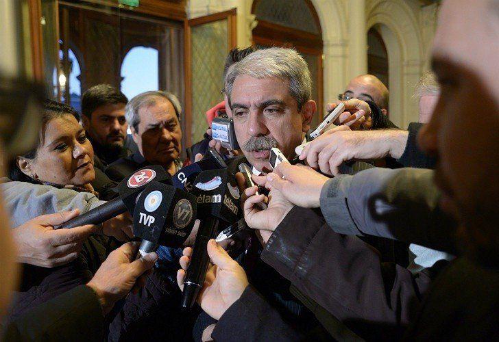 Aníbal Fernández calificó de mamarracho la intervención del PJ Nacional