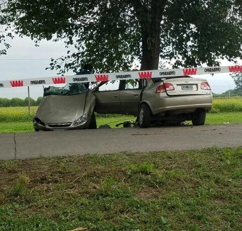 Accidente mortal: cuatro personas murieron en la ruta de acceso a Colombres