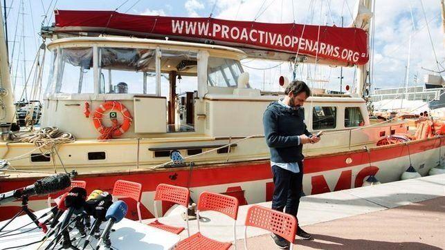 Liberan el barco español detenido en Italia