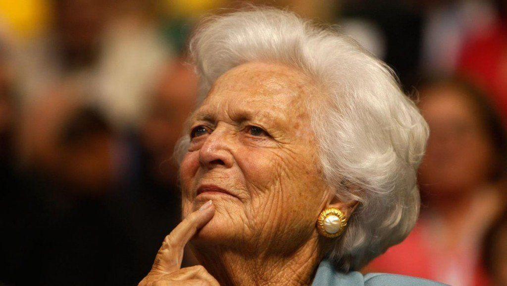 Falleció Barbara Bush