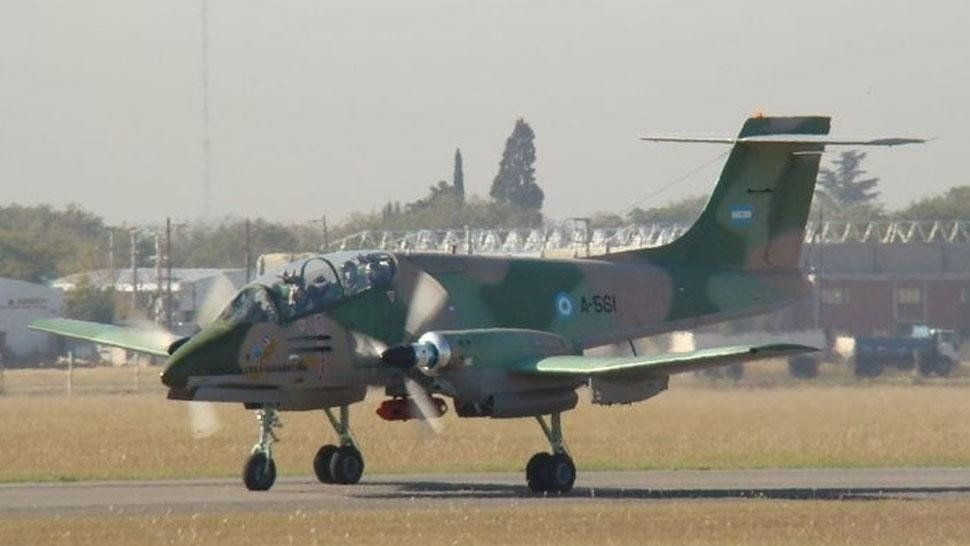 Una avioneta ilegal fue bajada por un avión de guerra en Salta