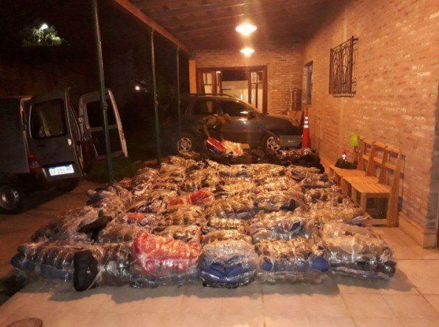 Secuestraron más de 500 mil pesos de mercadería extranjera en Taco Ralo