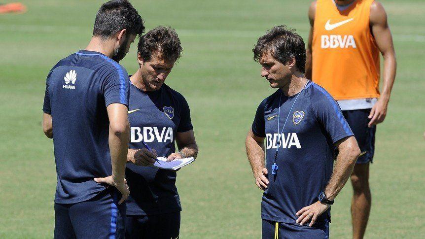 Guillermo definió el once de Boca para recibir al Palmeiras