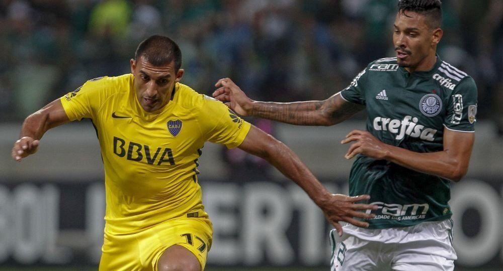 Boca recibe esta noche a Palmeiras para liderar su grupo