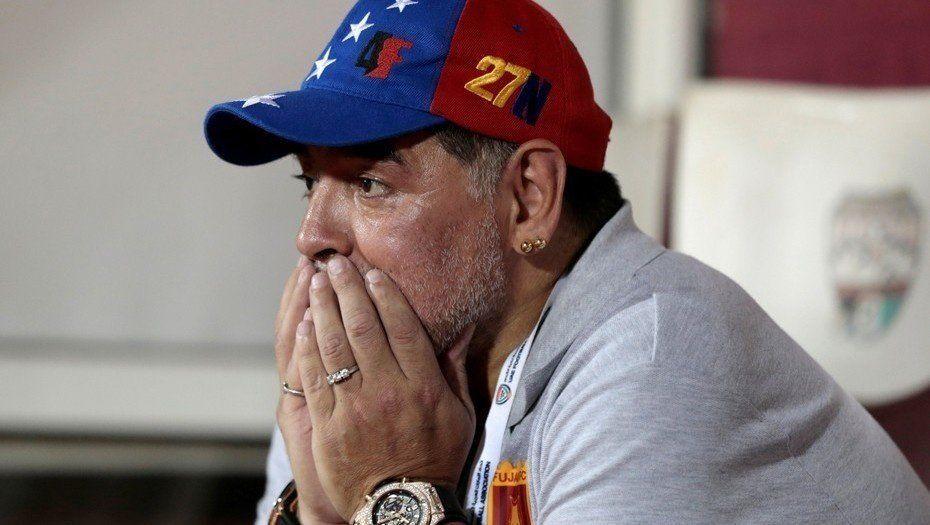 Maradona renunció de Al Fujairah