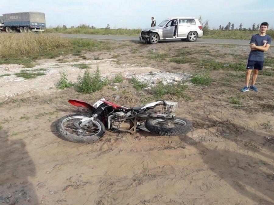 Accidente en Los Ralos: Dos heridos