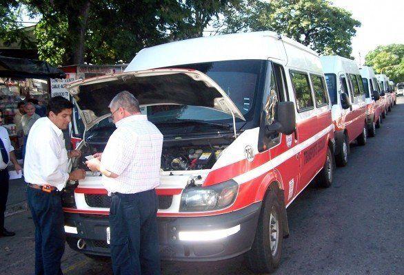 Hasta el viernes se podrá realizar la inspección técnica a trasportes escolares