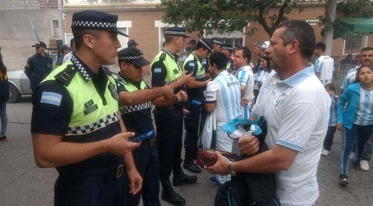 Intensifican la seguridad para el partido de Atlético