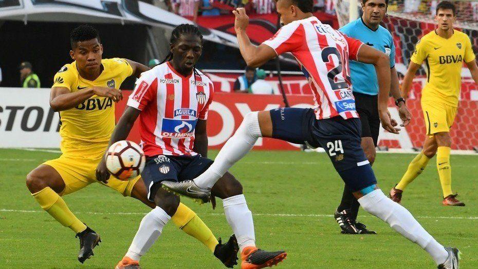 Boca empató en Barranquilla