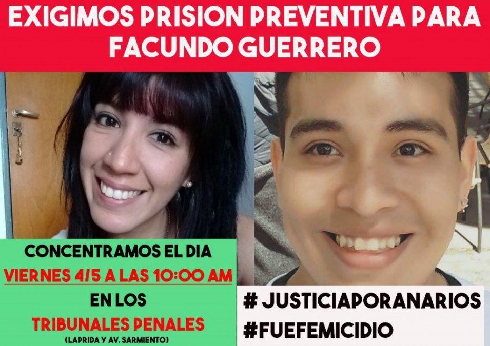 Caso Ana Ríos: se dictó la prisión preventiva