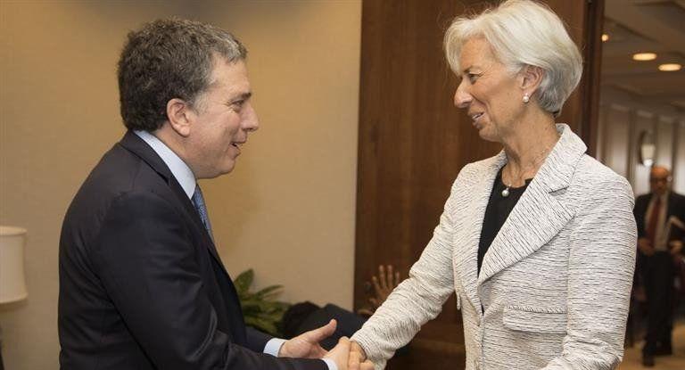 Primer contacto entre Dujovne y Lagarde