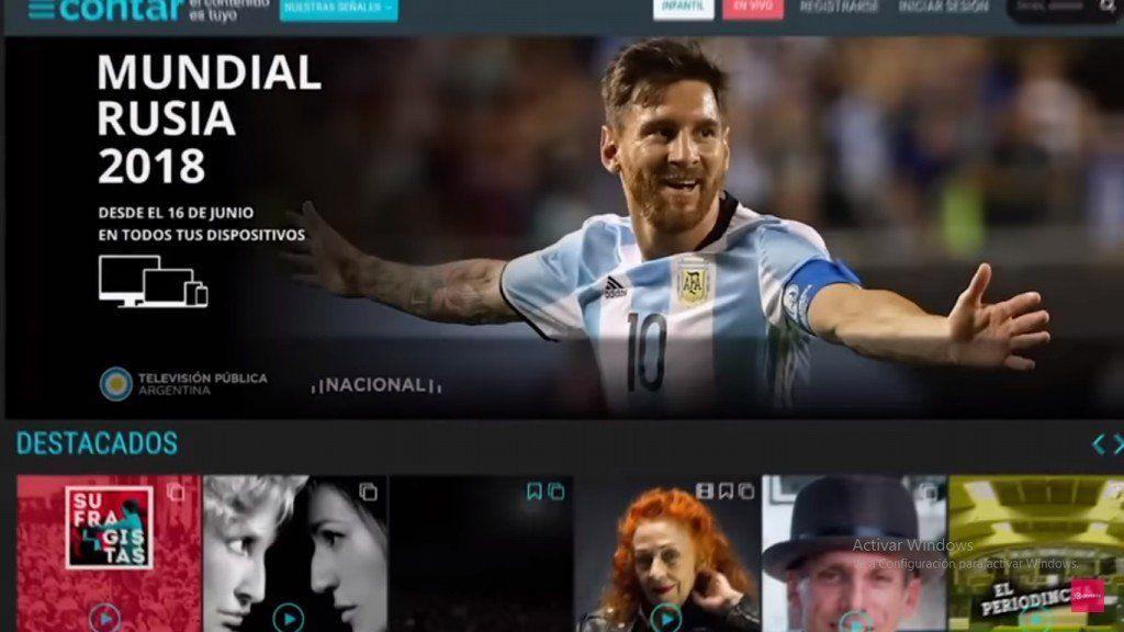 Lanzaron Contar, el Netflix argentino y gratuito