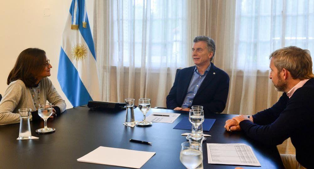 Presupuesto 2019: Macri se reunió con Weretilneck y Corpaci