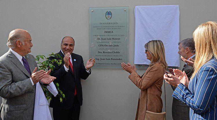 Se inauguró el primer Instituto de Medicina Molecular de la región