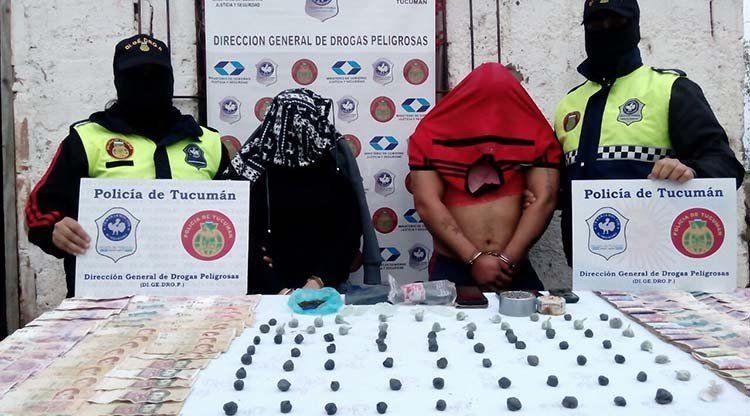 En 15 allanamientos secuestraron droga, dinero y armas de fuego