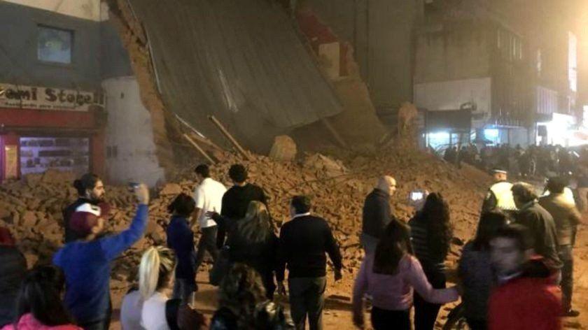 Derrumbes en la ciudad: Los controles de la municipalidad son ineficientes y pocos