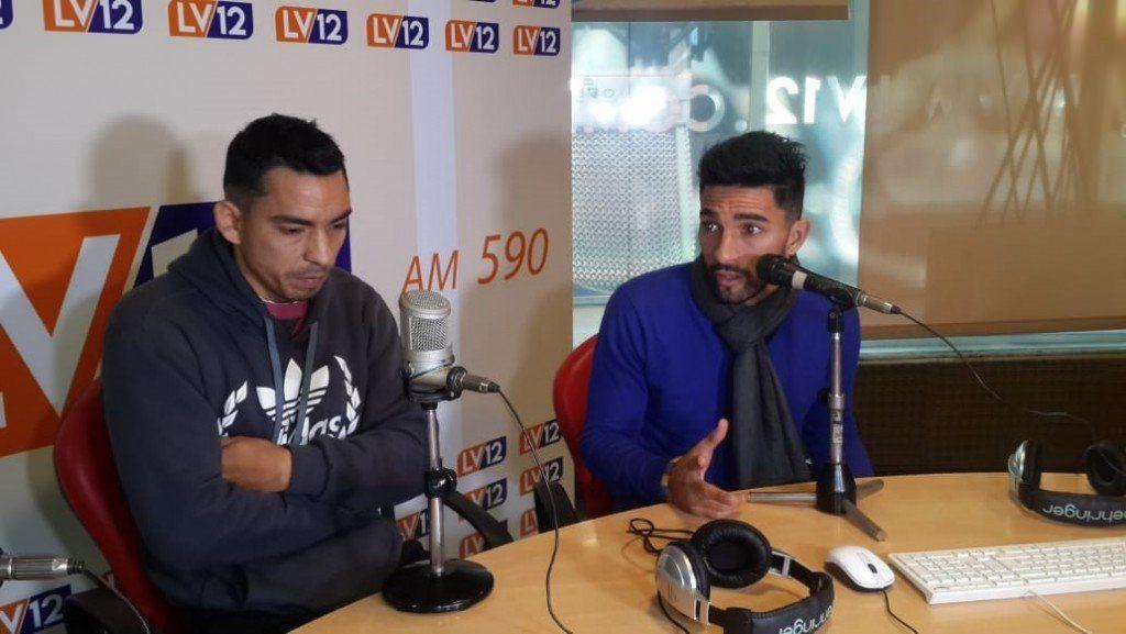 Maxi Martínez y Rolando Serrano la pasan de Primera