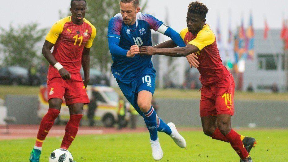 Islandia empató ante Ghana en su último amistoso