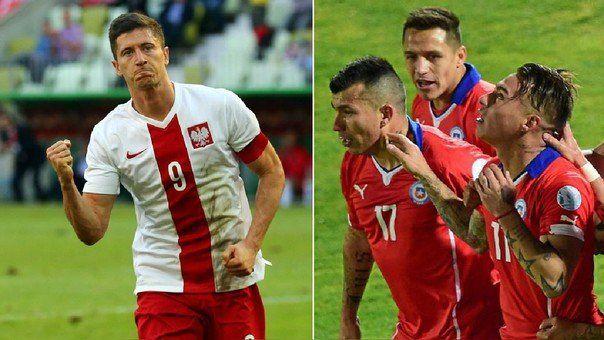 Polonia enfrenta a Chile pensando en su debut en la Copa del Mundo