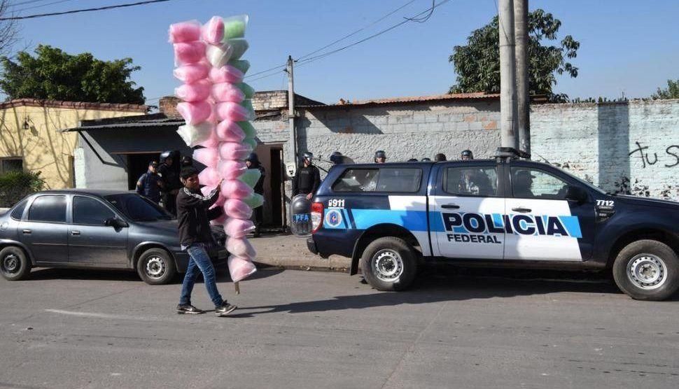 Un megaoperativo desarticuló al clan Reyna en La Bombilla