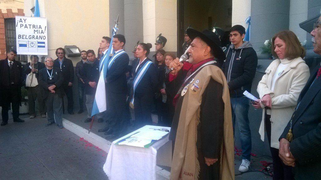 Agrupaciones gauchas renovaron su compromiso con la Patria en el homenaje a Belgrano